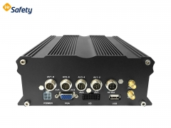 1080P HDD mobile dvr with 4channels input for vehicle track by GPS 4G 3G WIFI